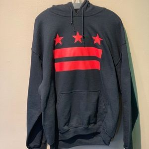 New Stars & Stripes D.C. flag hoodie